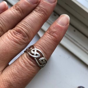 Sterling Silver size 7 ring